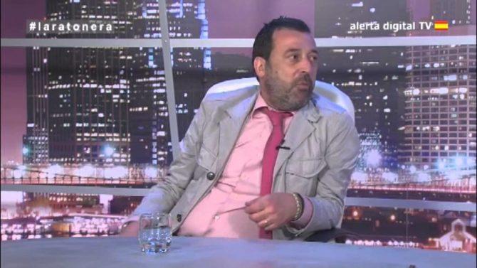 """Josele Sánchez, durante su participación en el programa """"La Ratonera·, conducido y dirigido por Armando Robles"""