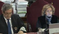La secretaria judicial ha pedido al Supremo que su imagen no se hiciera pública