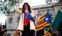 Toni Albà en un acto público en Barcelona