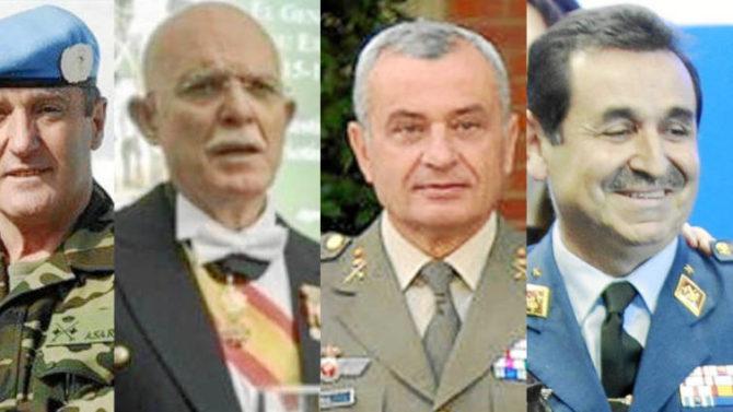 Trasnochados mandos retirados que pretenden demostrar en política el valor que no tuvieron en la milicia (foto Facebook)