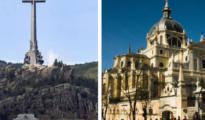 El Valle de los Caídos y la Catedral de la Almudena
