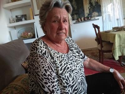 María Luisa Gutiérrez Sánchez-Arjona, afiliada de 84 años amenazada por la coordinadora de VOX La Unión