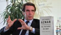 José María Aznar, este jueves en Tomares.