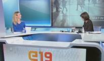 Momento de la entrevista deÁlvares de Toledo en TV3