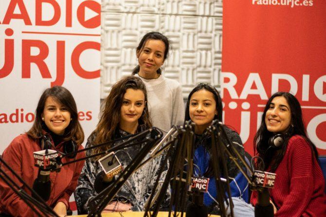 Imagen de las estudiantes de la Universidad Rey Juan Carlos que han realizado el reportaje.