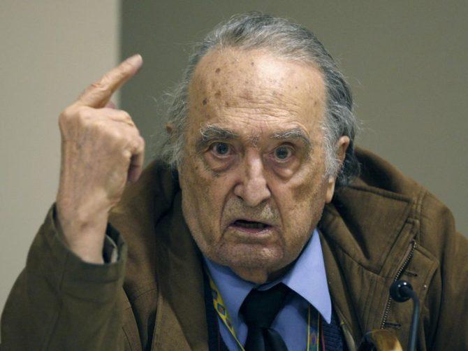 Rafael Sánchez Ferlosio, en una foto de 2009.