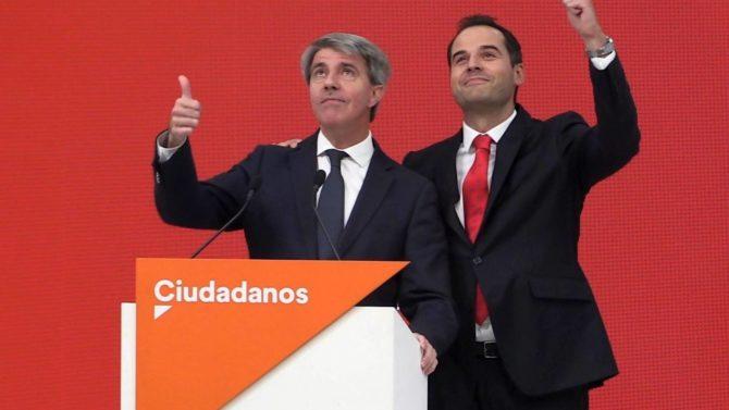 'Judas' Garrido, a la izquierda