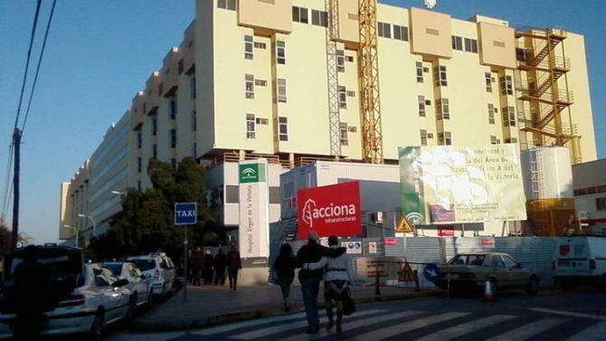 Hospital Clínico Virgen de la Victoria, en Málaga
