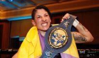La campeona de Europa de boxeo Miriam Gutiérrez