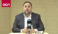 Oriol Junqueras, desde Soto del Real