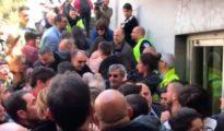 Disturbios en la UAM, donde Cayetana Álvarez de Toledo tenía un acto / Twitter