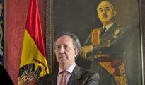 El portavoz de la Fundación Nacional Francisco Franco, Jaime Alonso García