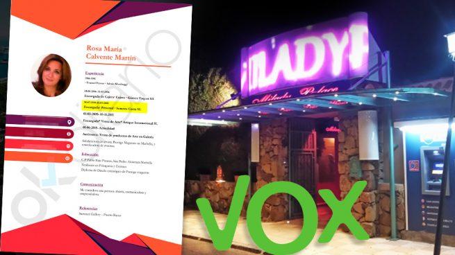 La candidata de Vox a la Alcaldía de Marbella, Rosa Calvente, trabajó para Suncres Costa SL entre 1999 y 2005.