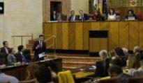 El presidente de la Junta interviene en el Parlamento.