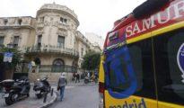 Una ambulancia del Samur, en una imagen de archivo.