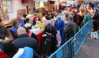 """Una de las """"colas del hambre""""· que ya se ven en toda España"""