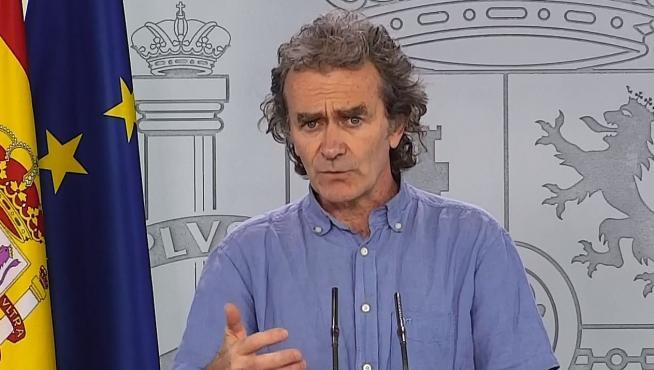 Rueda de prensa de Fernando Simón
