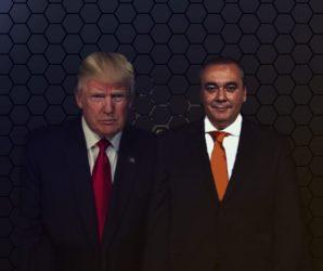 Donald Trump y Armando Robles