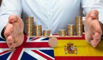 Fiscalidad del Reino Unido: ingresos producidos en Inglaterra y en España