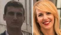 """Jacobo Vázquez y Patricia Rueda, también conocidos por la militancia de Vox Málaga como """"El chusquero"""" y """"Barbie""""."""